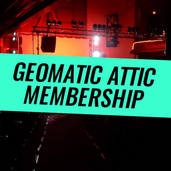 Geomatic Attic Membership