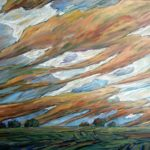 Strong Winds, Oil 30 X 48 $3600 with frame