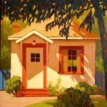 Small Cabin 16 x 20 Oil on Panel $2100
